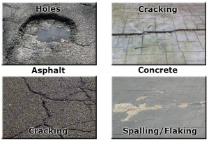 Asphalt and Concrete